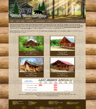 Black Bear Getaway Lodge and Cabin Rentals