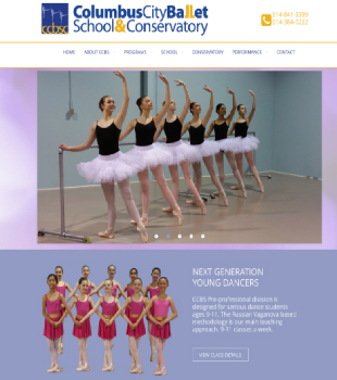 Columbus City Ballet School, Lewis Center, Ohio