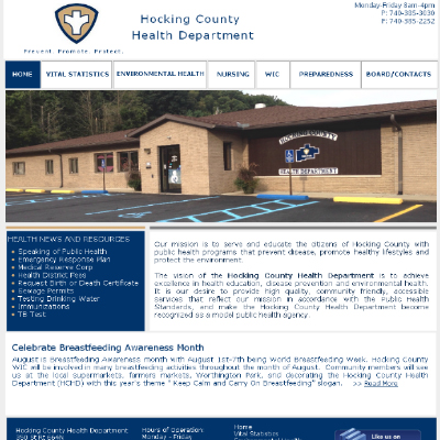 Hocking County Health Department - Logan Ohio