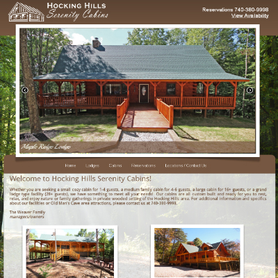Hocking Hills Serenity Cabins - Hocking Hills, Ohio