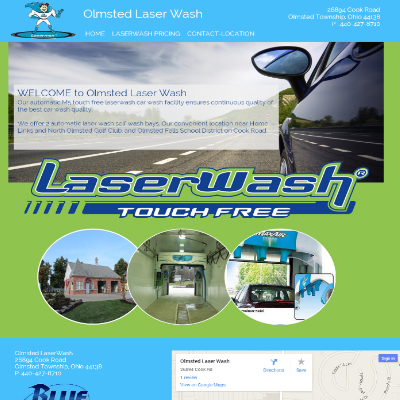 Olmsted Laser Wash