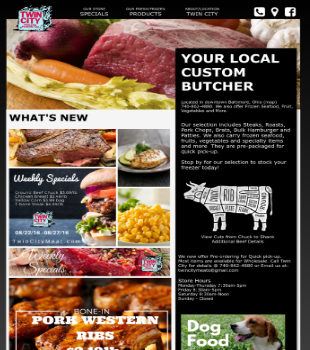 Twin City Meat  - Twin City Frozen Foods