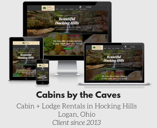 Cabins by the Caves Hocking Hills Ohio Cabin Rentals