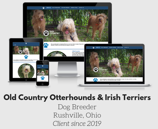 Old Country Otterhounds & Irish Terriers