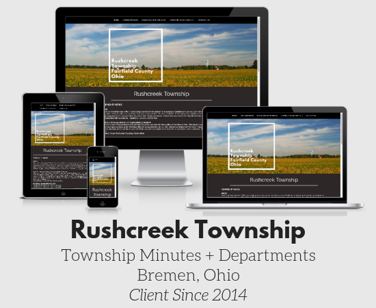 Rushcreek Township in Fairfield County, Ohio